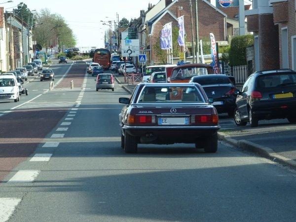 Mercedes 300 SL R107 1986