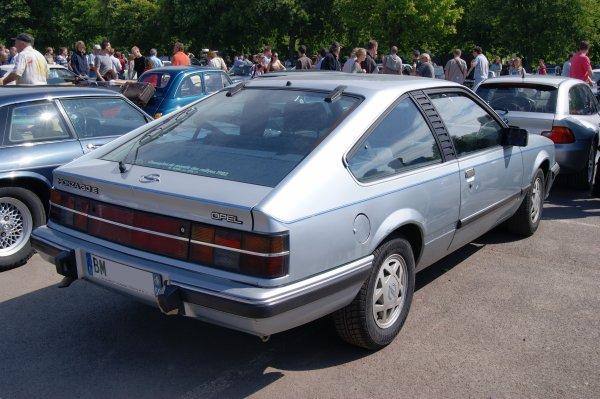 Opel Monza A2 1982