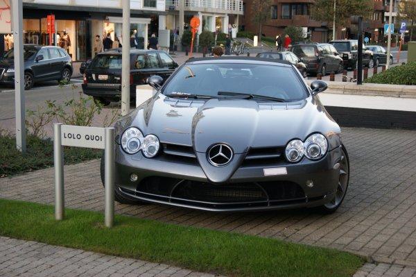 Mercedes SLR Mc Laren roadster 2007