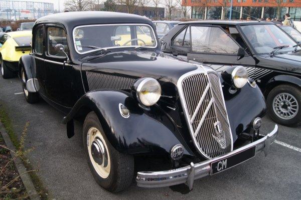 Citroën Traction 15-6 D 1952