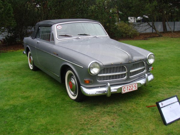 Volvo 122 S Cabriolet Coune 1963