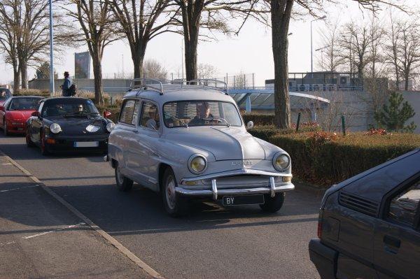 Simca Aronde Chatelaine 1955