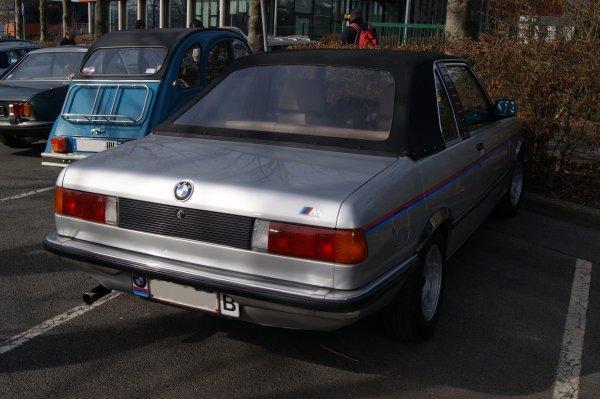 BMW Série 3 E21 Cabriolet Baur TC1 1979