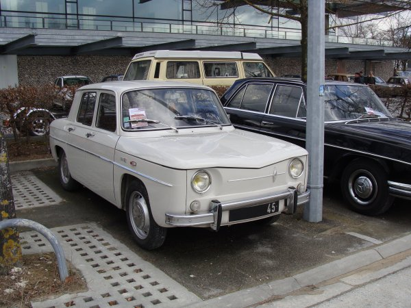 Renault 8 Major 1968