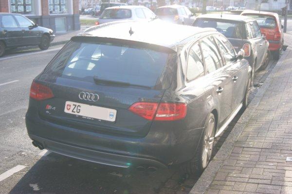 Audi S4 B8 Avant 2008