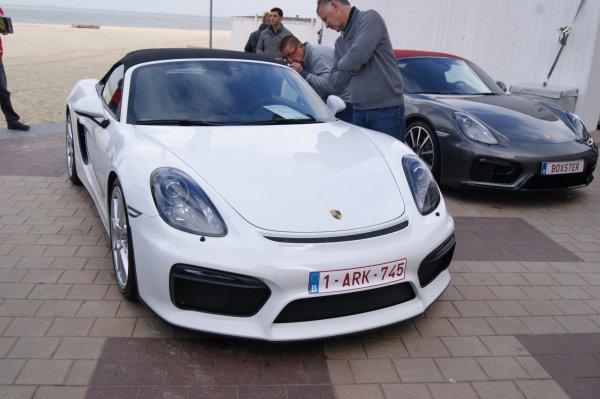 Porsche Boxster 981 Spyder 2015