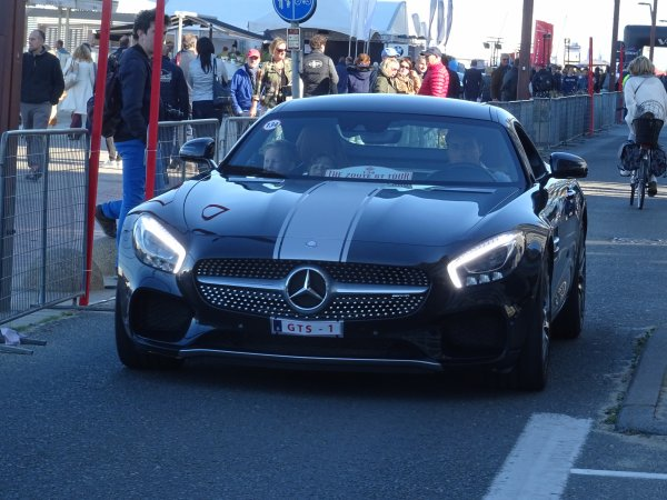 Mercedes AMG GT S 2014