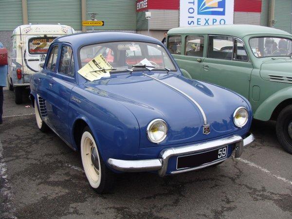 Renault Dauphine R1090 1956