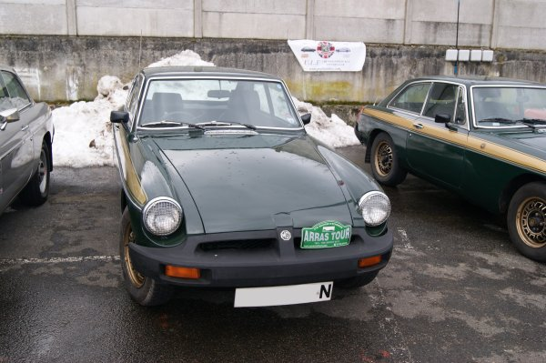 MG B GT Jubilee Limited Edition 1975