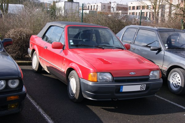 Ford Escort cabriolet 1989