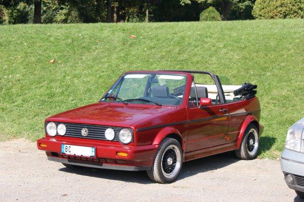 Volkswagen Golf 1 Cabriolet 1988