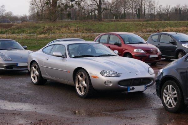 Jaguar XKR X100 Silverstone 2000