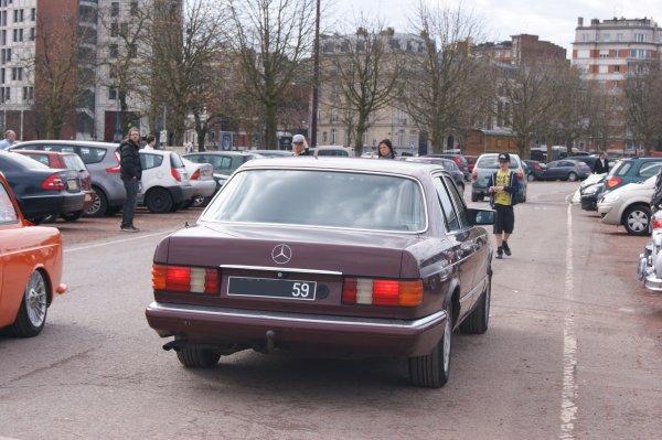 Mercedes S W126 1985