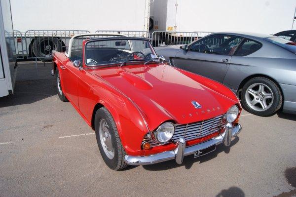 Triumph TR4 1961