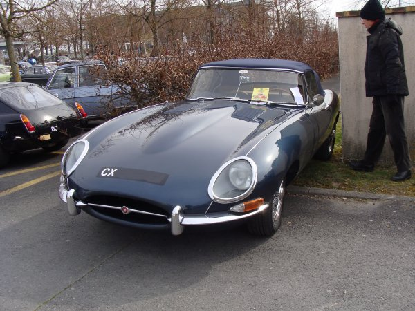 Jaguar Type E S1 1961