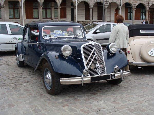 Citroën Traction 15/6D 1954