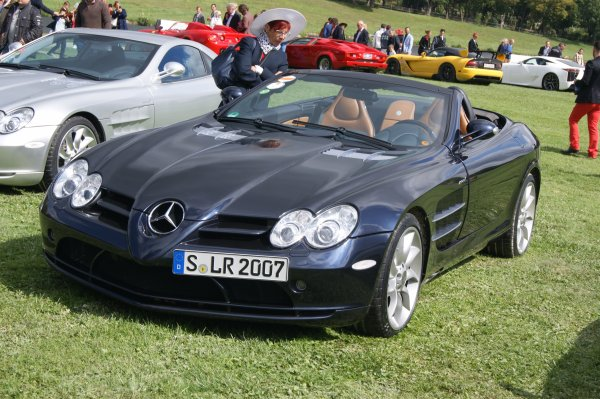 Mercedes SLR MC Laren Roadster 2007