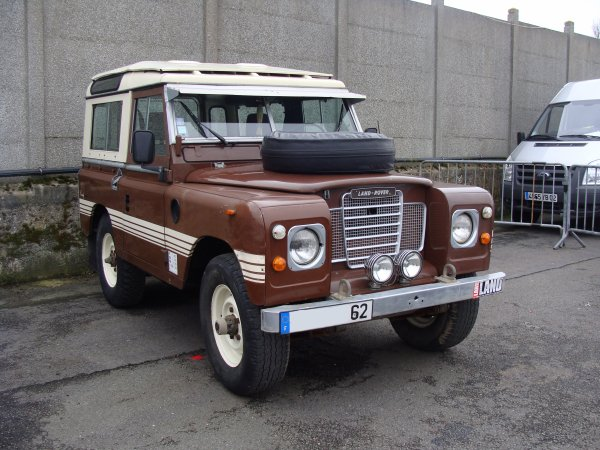 Land Rover 88 S3 Station Wagon 1971