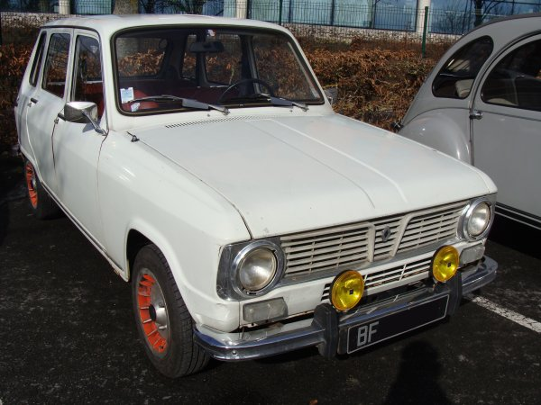 Renault 6 TL 1971