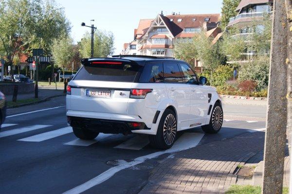 Land Rover Manrory Range Rover Sport SVR 2014