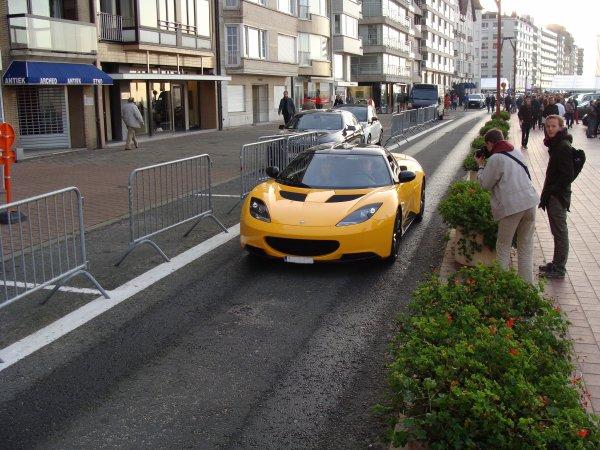 Lotus Evora S Sport racer 2012