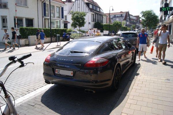 Porsche Panamera Turbo 2008