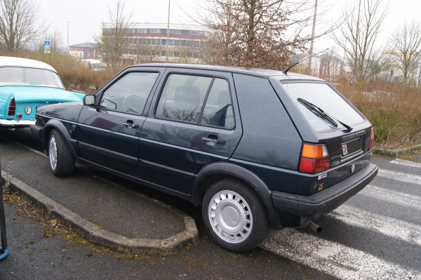 Volkswagen Golf 2 Boston 1990