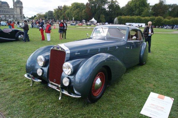 Delage D8-120 Sport Pourtout 1938