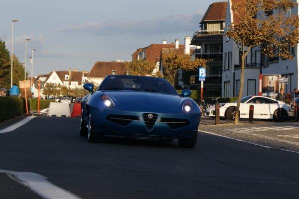 Alfa Romeo Disco Volente Superleggera Touring Spyder 2016