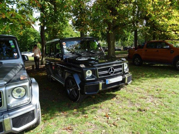 Mercedes G W463 63 AMG 2012