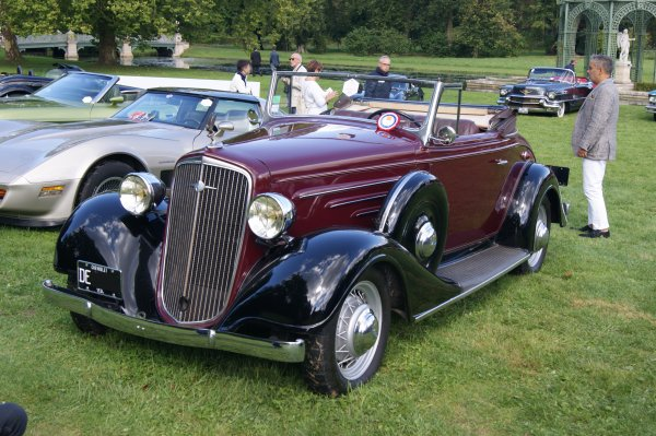 Chevrolet Master Langenthal 1934