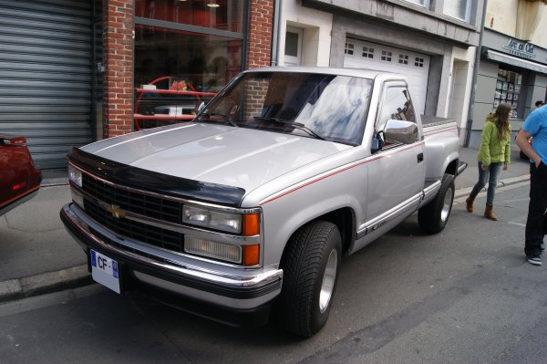 Chevrolet Silverado GMT 400 Stepside 1988