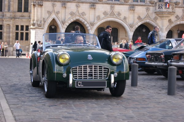 Triumph TR3 1955