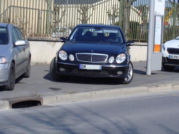 Mercedes E 55 AMG W211 2003