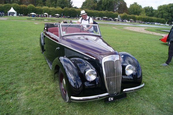Lancia Ardena Cabriolet Pourtout 1938
