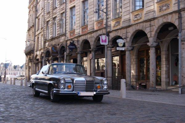 Mercedes 280 W108 1969