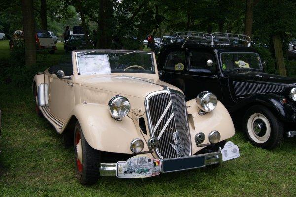 Citroën Traction 15/6D Marcel Bonhour 1948