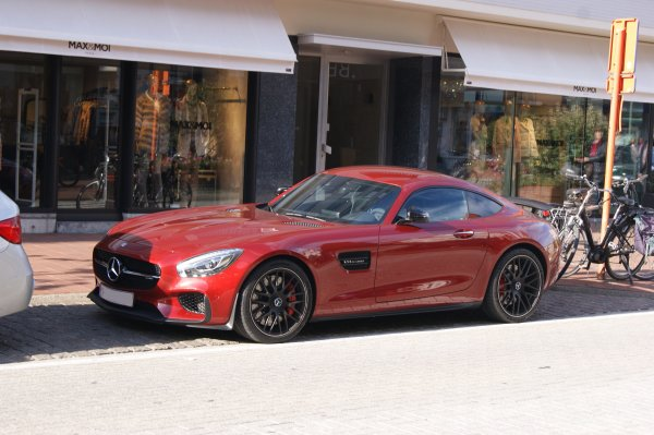 Mercedes AMG GT S Edition 1 2014