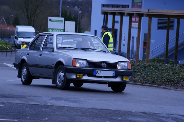 Opel Ascona C Luxus 1983
