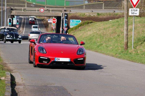 Porsche Boxster 981 GTS 2015