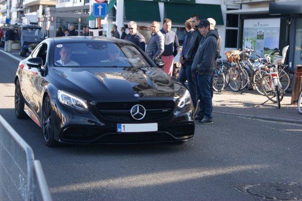 Mercedes S C217 63 AMG 2014