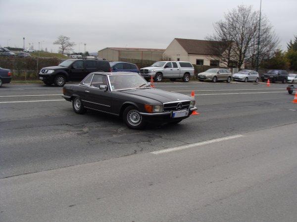 Mercedes SL R107 1971