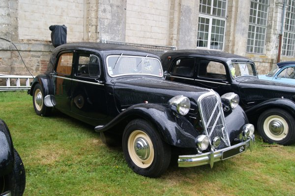 Citroën Traction 15/6D 1950