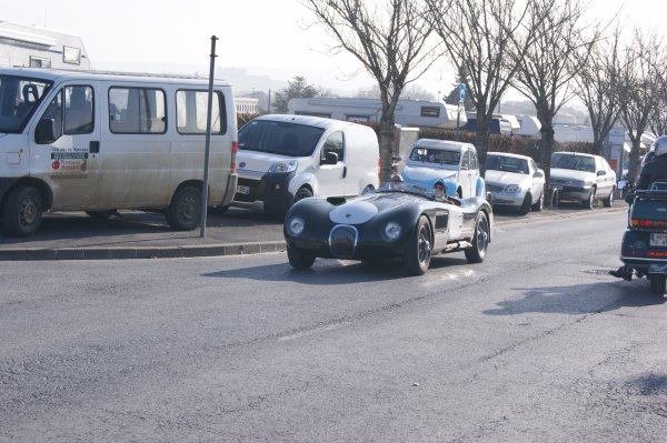 Jaguar Type D Replica 1965