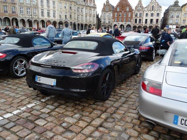 Porsche Boxster 981 GTS 2014