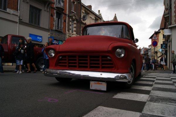 Chevrolet Task Force 3100 Stepside 1956