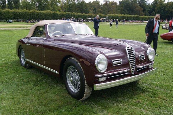 Alfa Romeo 6C 2500 SS Villa d'Este Pininfarina 1951