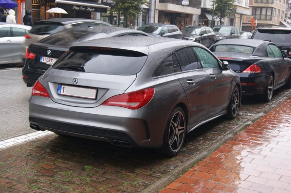 Mercedes CLA C117 45 AMG Shooting Brake 2015