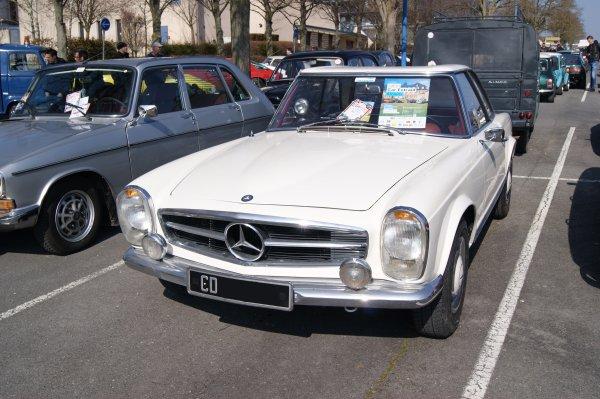 Mercedes 230 SL W113 1963