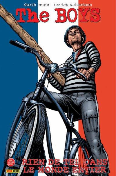 La représentation de l'étranger dans les comic books : Le français (1)